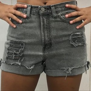 Vintage Distressed Cutoff Jean Shorts Old Navy 6